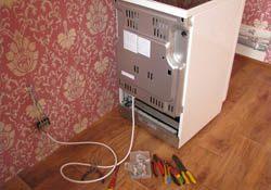 Подключение электроплиты. Ковровские электрики.