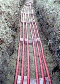 прокладка силовых кабелей. Ковровские электрики.