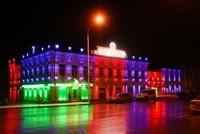 Наружное освещение: архитектурное освещение зданий, фасадов дома в Коврове